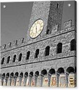 Palazzo Vecchio At Florense Acrylic Print by Aleksandar Hajdukovic