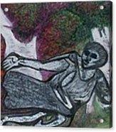 Paleolithic Era Man Acrylic Print by Jonathon Hansen