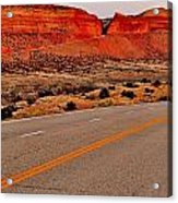 Parallel Lines Acrylic Print by Benjamin Yeager