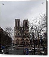 Paris France - Notre Dame De Paris - 011311 Acrylic Print by DC Photographer