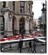 Paris France - Street Scenes - 0113115 Acrylic Print by DC Photographer