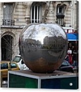 Paris France - Street Scenes - 0113133 Acrylic Print by DC Photographer