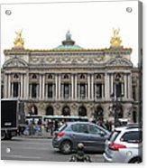 Paris France - Street Scenes - 121246 Acrylic Print by DC Photographer