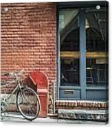 Parked Acrylic Print by Johnny Lam