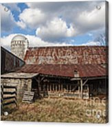 Passed By Acrylic Print by Terry Rowe