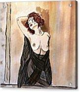 Pastel Passion Acrylic Print by Shlomo Zangilevitch