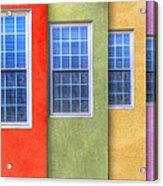 Pastel Acrylic Print by Paul Wear