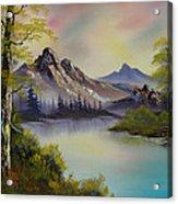 Pastel Skies Acrylic Print by C Steele