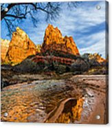 Patriarchs Of Zion Acrylic Print by Chad Dutson