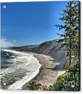 Patrick's Point Landscape Acrylic Print by Adam Jewell