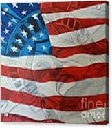 Patriotic Acrylic Print by Michelley Fletcher