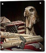 Patriotism Acrylic Print by Tom Mc Nemar