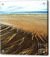 Patterns In The Tides Acrylic Print by Artist and Photographer Laura Wrede