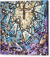 Peace Acrylic Print by Anthony Falbo