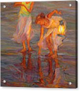 Peace Acrylic Print by Diane Leonard
