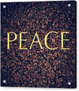 Peace Acrylic Print by Tim Gainey