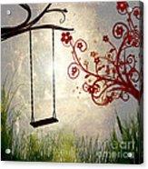 Peaceful Morning Glow Acrylic Print by Kaye Menner