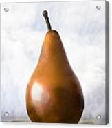 Pear In The Clouds Acrylic Print by Carol Leigh