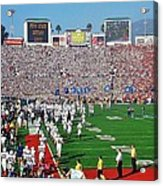 Penn State Rose Bowl Acrylic Print by Benjamin Yeager