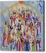 Pentecost Acrylic Print by Paula Stacy Adams