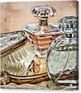 Perfume Bottle Ix Acrylic Print by Tom Mc Nemar