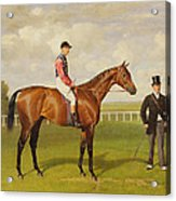 Persimmon Winner Of The 1896 Derby Acrylic Print by Emil Adam