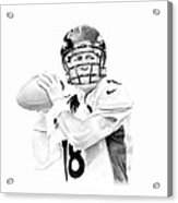 Peyton Manning Acrylic Print by Don Medina