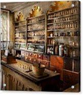 Pharmacist - The Dispensatory Acrylic Print by Mike Savad