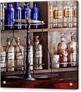 Pharmacy - Apothecarius  Acrylic Print by Mike Savad