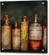 Pharmacy - Daily Remedies  Acrylic Print by Mike Savad
