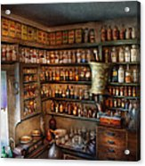 Pharmacy - Medicinal Chemistry Acrylic Print by Mike Savad
