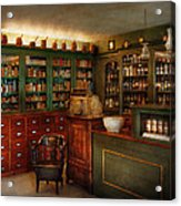 Pharmacy - Patent Medicine  Acrylic Print by Mike Savad