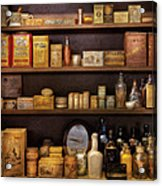 Pharmacy - Quick I Need A Miracle Cure Acrylic Print by Mike Savad