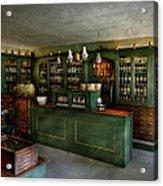 Pharmacy - The Chemist Shop  Acrylic Print by Mike Savad