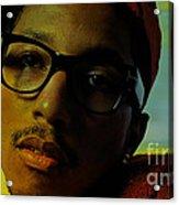Pharrell Williams Acrylic Print by Marvin Blaine