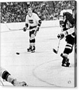 Phil Esposito In Action Acrylic Print by Gianfranco Weiss