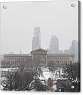 Philadelphia From Lemon Hill Acrylic Print by Bill Cannon