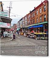 Philadelphia Italian Market 4 Acrylic Print by Jack Paolini