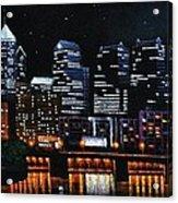 Phillie Acrylic Print by Thomas Kolendra