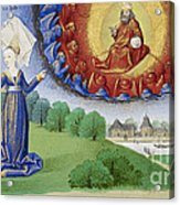 Philosophy Instructs Boethius On God Acrylic Print by Getty Research Institute