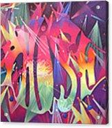 Phish The Mother Ship Acrylic Print by Joshua Morton
