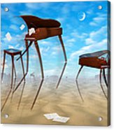 Piano Valley Acrylic Print by Mike McGlothlen