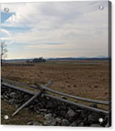 Picketts Charge The Angle Acrylic Print by Joshua House
