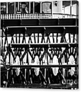 Picture Of Natchez Steamboat Paddle Wheel In New Orleans Acrylic Print by Paul Velgos