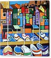 Pier One Acrylic Print by Anthony Falbo