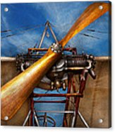 Pilot - Prop - They Don't Build Them Like This Anymore Acrylic Print by Mike Savad