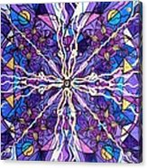 Pineal Opening Acrylic Print by Teal Eye  Print Store