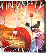 Pink Floyd The Wall Acrylic Print by Joshua Morton