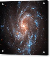 Pinwheel Galaxy Acrylic Print by The  Vault - Jennifer Rondinelli Reilly