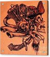 Pirate Acrylic Print by Sean Ingram